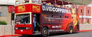 Big Bus hop on hop off bus a Las Vegas