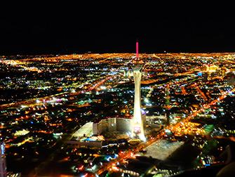 Voli in elicottero a Las Vegas - Stratosphere Tower