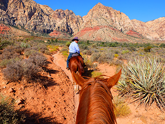 Equitazione in Red Rock Canyon a Las Vegas - La Guida