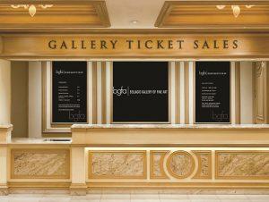 Galleria d'arte a Bellagio Las Vegas