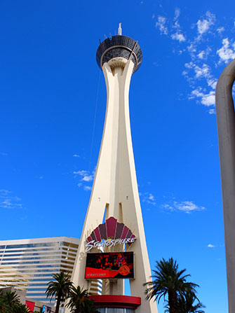 La Stratosphere Tower a Las Vegas - Palms