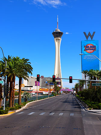 La Stratosphere Tower a Las Vegas - W Hotel