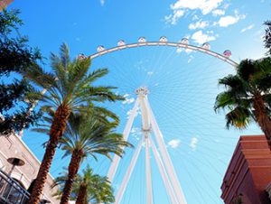 The LINQ High Roller di Las Vegas