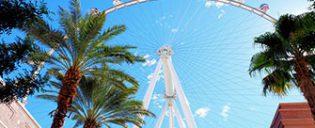The LINQ High Roller di Las Vegas