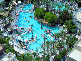 The LINQ High Roller di Las Vegas - Piscina