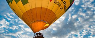 Volo in mongolfiera a Las Vegas